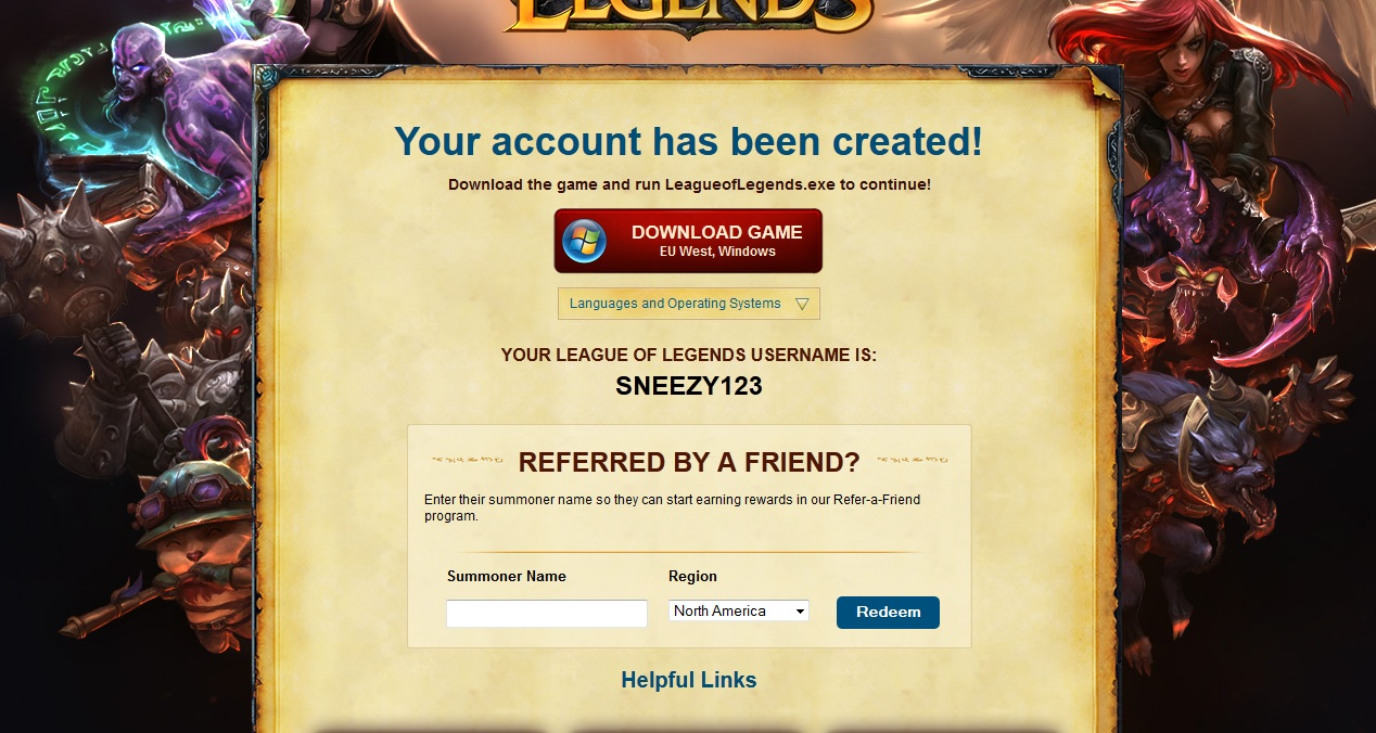 Download league of legends: February 2013