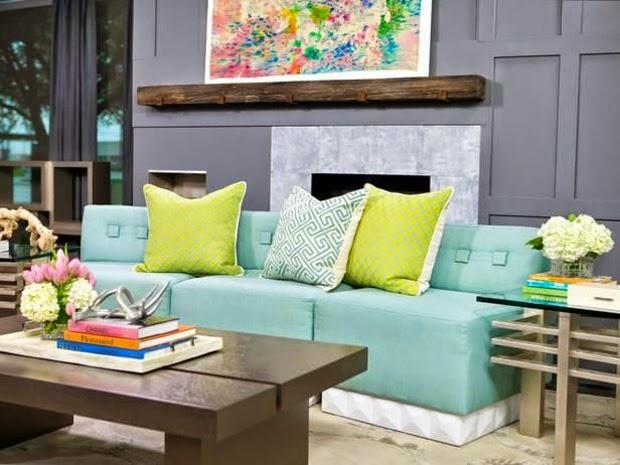 Sala fresca y elegante
