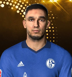 PES 2017 Faces Nabil Bentaleb by Facemaker Ahmed El Shenawy