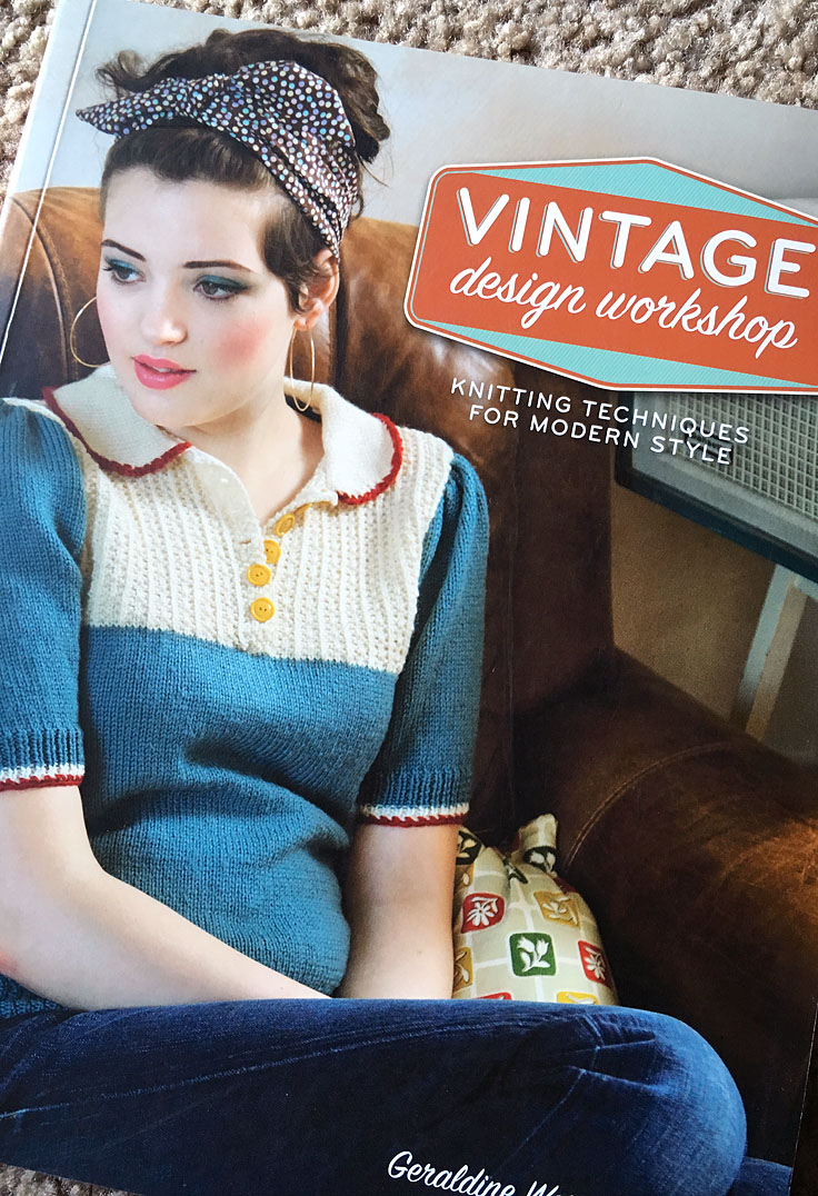vintage knitting design workshop review