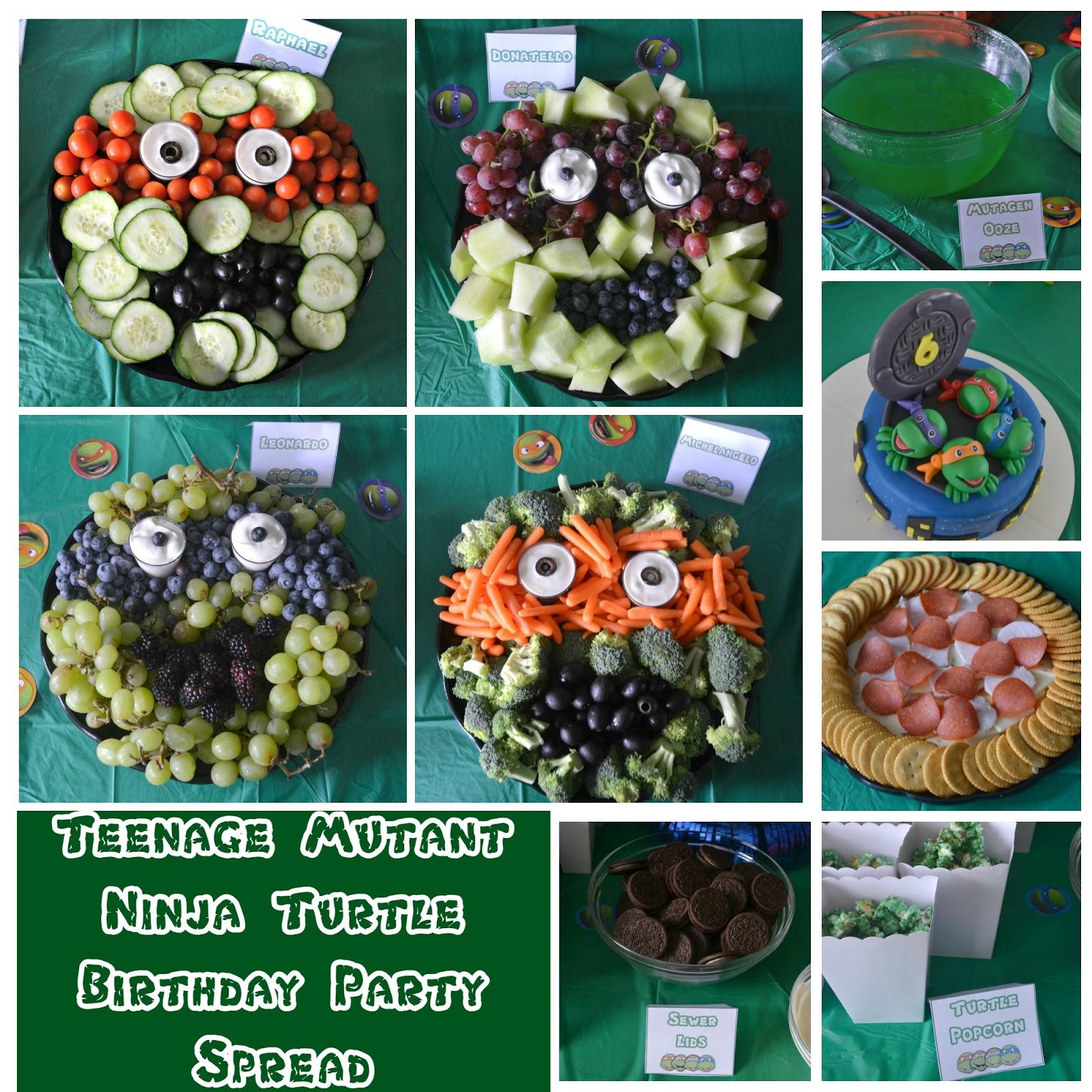 Teenage Mutant Ninja Turtle Birthday Party