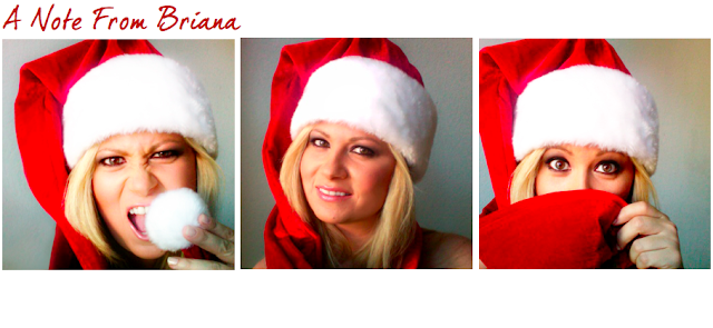 Christmas Holidays with Briana Christine