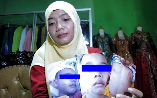 SADIS! Bocah Ini Kerap Dipukuli Mantan Pacar Ibunya dan Dipaksa Makan Kotorannya Sendiri