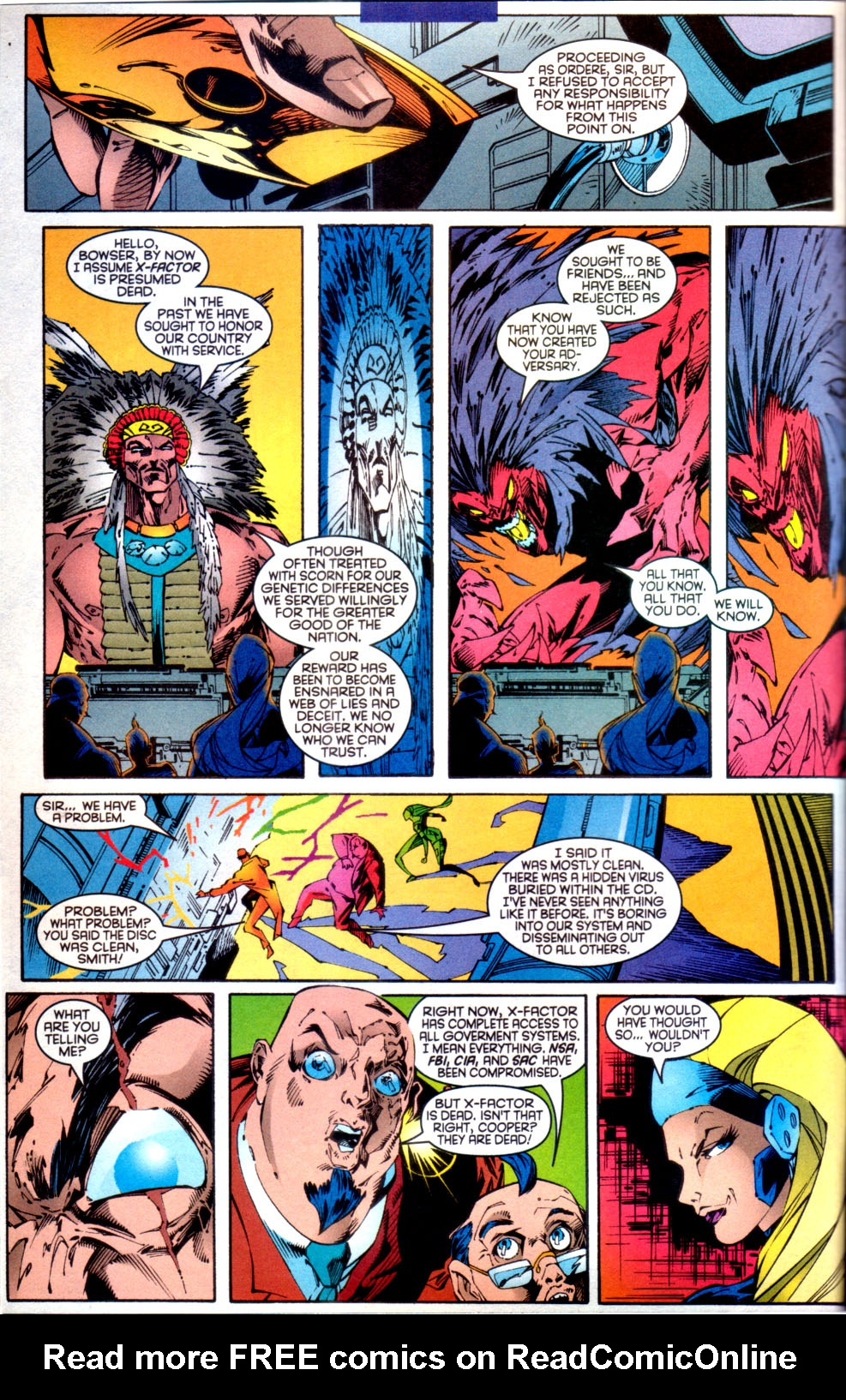 Read online X-Factor (1986) comic -  Issue #134 - 3