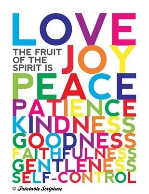 Compassion Fruit of the Spirit