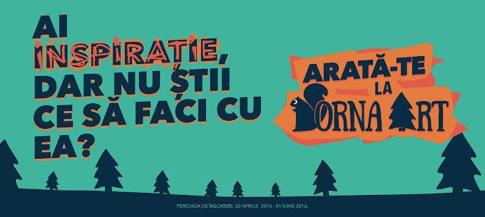 """Festivalul Dorna Art lansează înscrierile pentru prima ediție """"Arată-te la Dorna Art"""""""