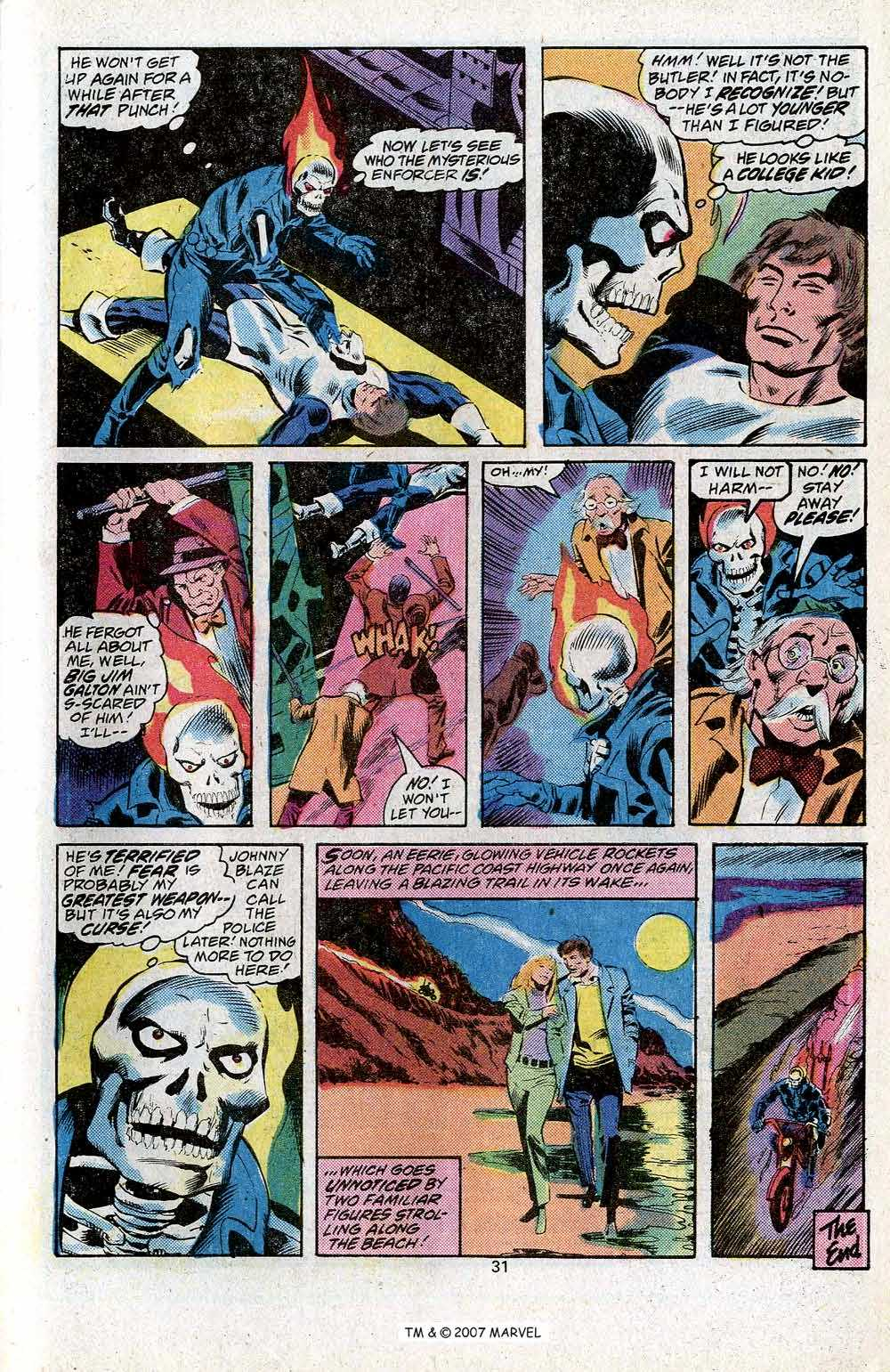 Ghost Rider (1973) Issue #24 #24 - English 33