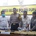 Satres Narkoba Polres Purwakarta Berhasil Ungkap 2 Orang Pemilik  Ganja Seberat 28.8 Kg