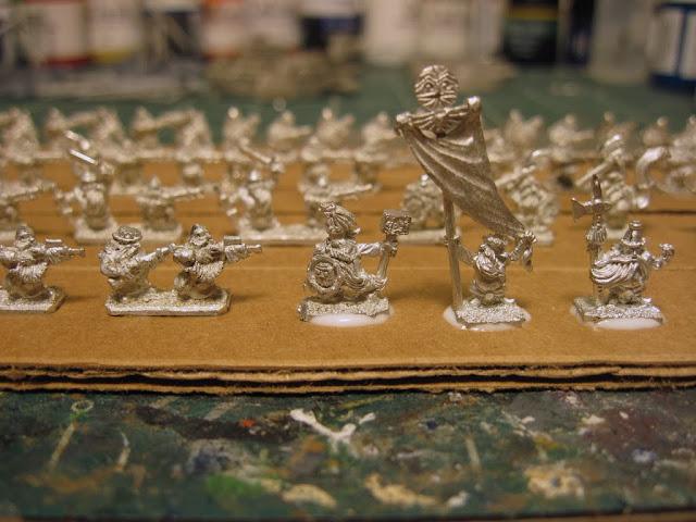 Warmaster Dwarf Characters