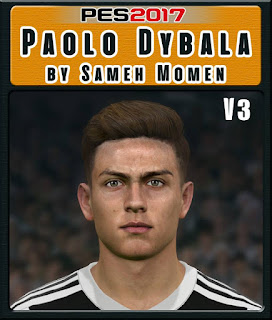 PES 2017 Faces Paulo Dybala by Sameh Momen