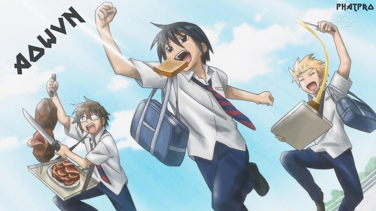 Danshi%2B %2BPhatpro%2B%25283%2529 min - [ Anime 3gp Mp4 ] Danshi Koukousei No Nichijou + SP | Vietsub - Học Đường Cực Hài Và Bựa