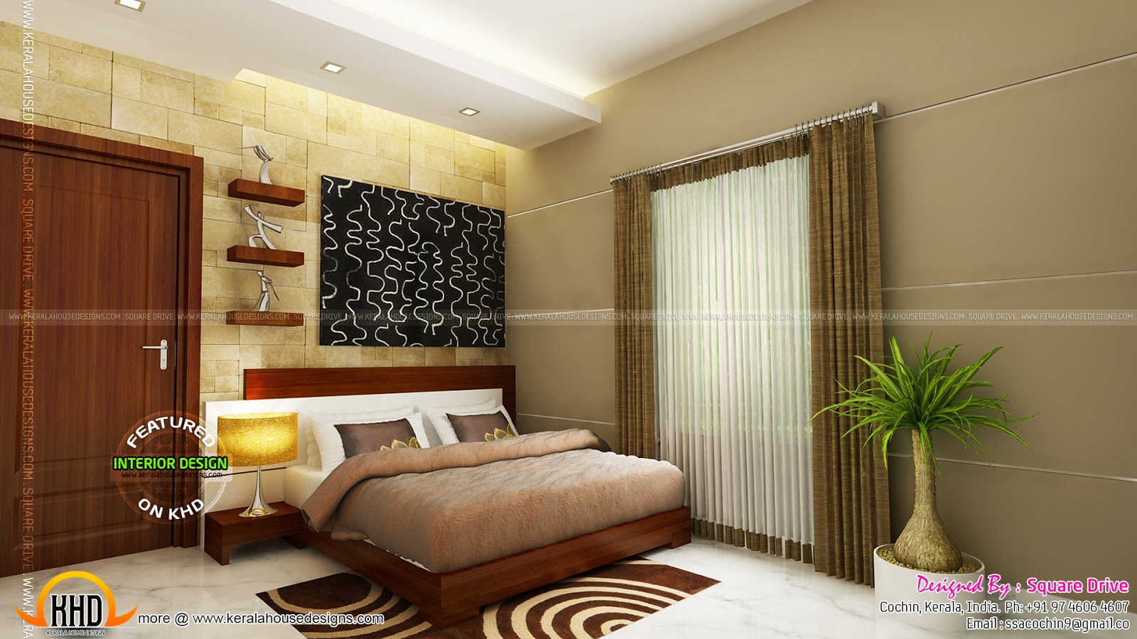 3d Wallpaper For Home Wall India Cochin Interior Design Kerala Home Design And Floor Plans