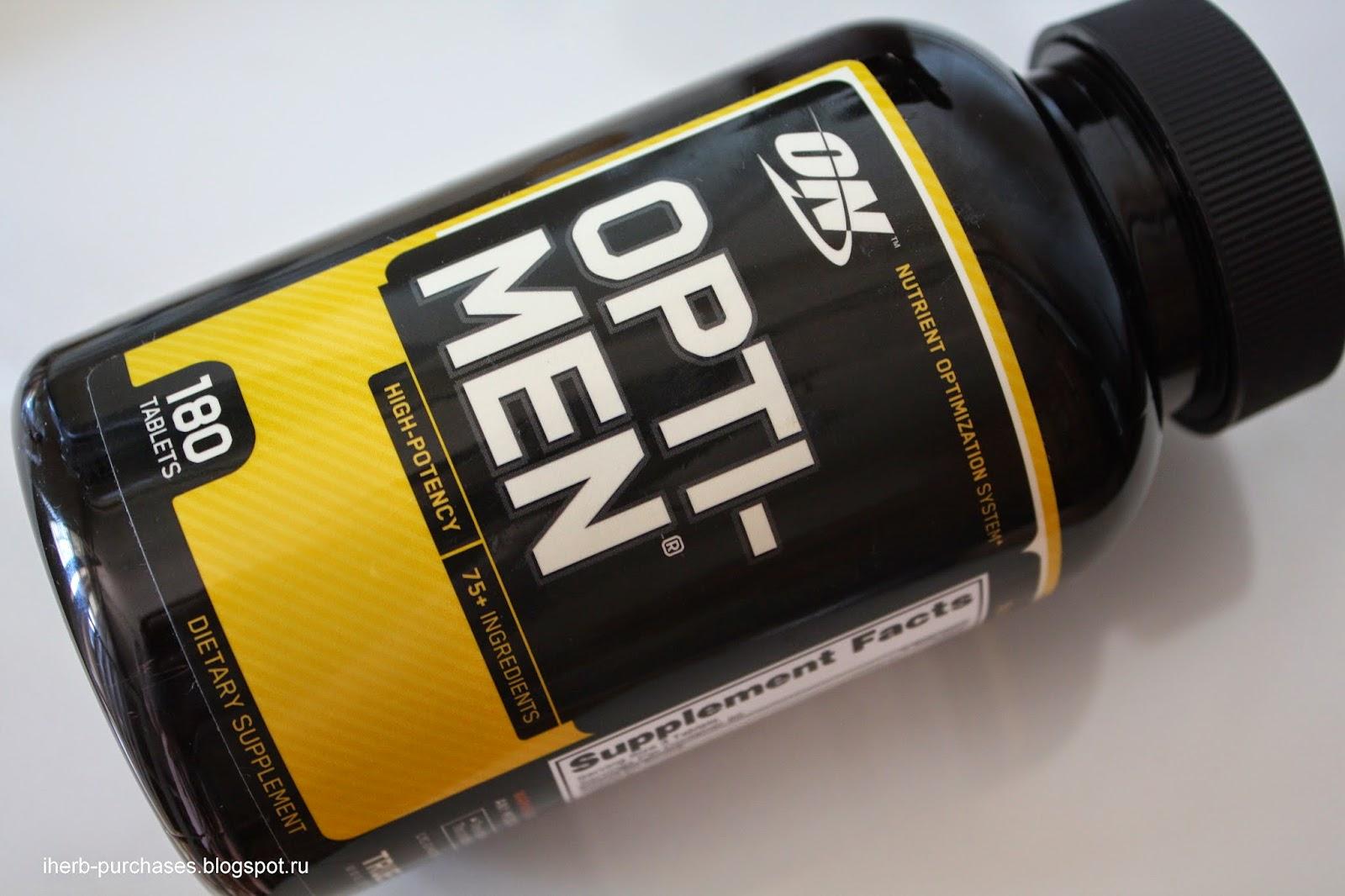 витамины для мужчин, спортивное питание, отзыв, iherb