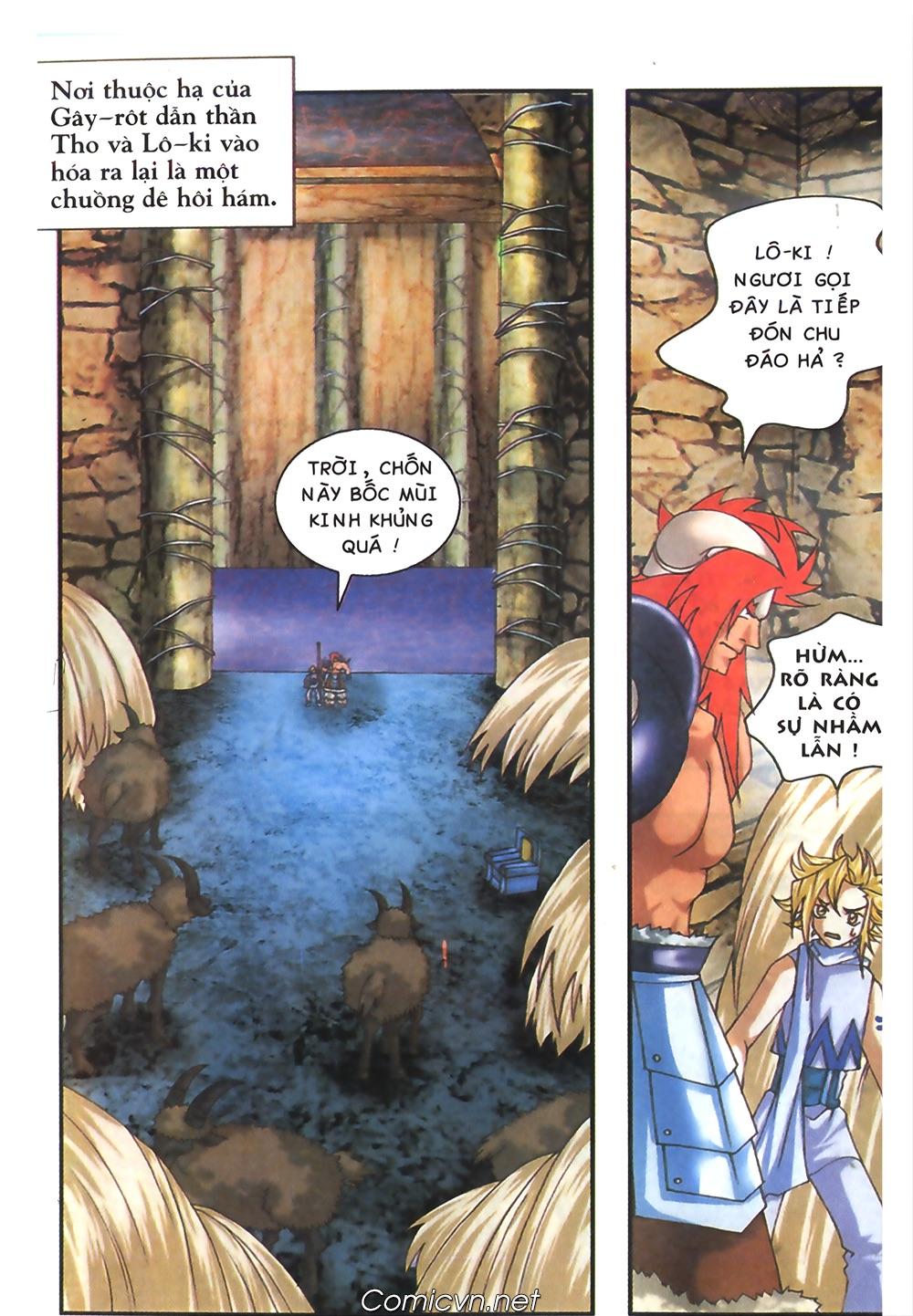 Thần thoại Bắc Âu - Chapter 41: Cha con nhà Gây rôt - Pic 13