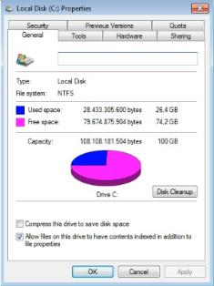 File System Harddisk