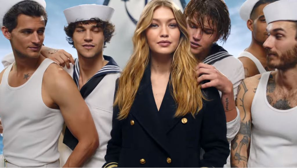Nome modella Tommy Hilfiger profumo The Girl (fragranza femminile) con Foto