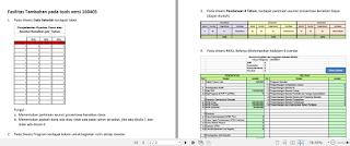 Fasilitas tambahan pada aplikasi RKS - RKAS