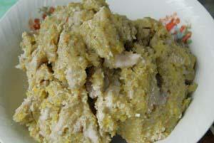 Gowi Nifufu makanan khas nias