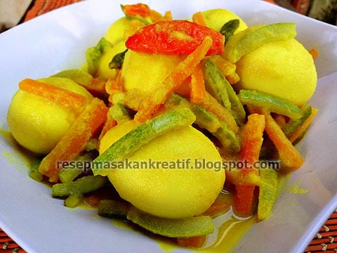 Resep Masakan Mie Rebus Medan