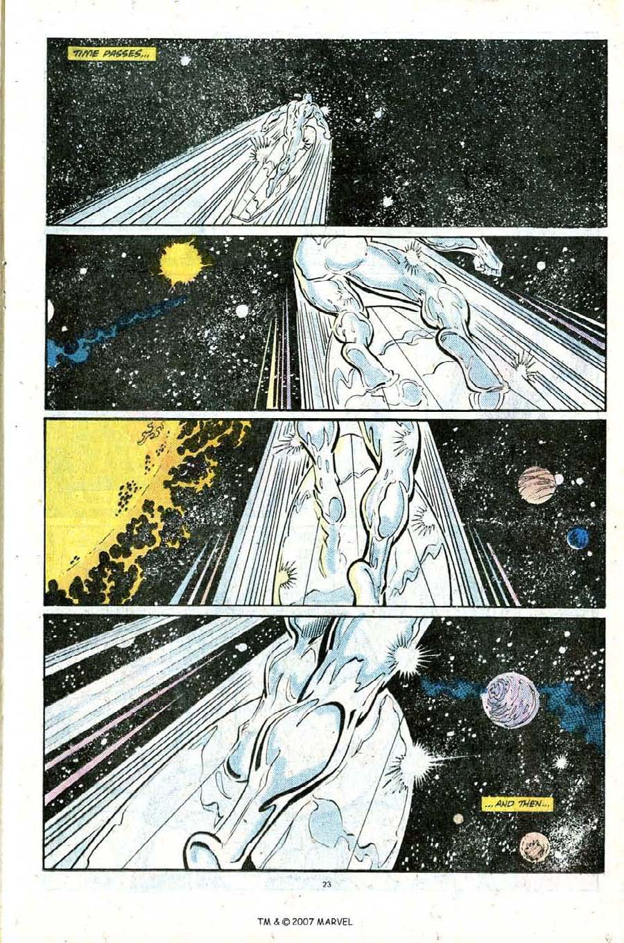 Read online Silver Surfer (1987) comic -  Issue #25 - 25