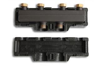 Colector para 2 circuitos