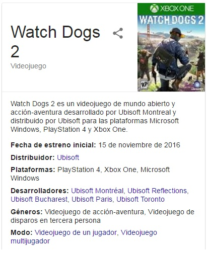 Watch Dogs 2 para PC