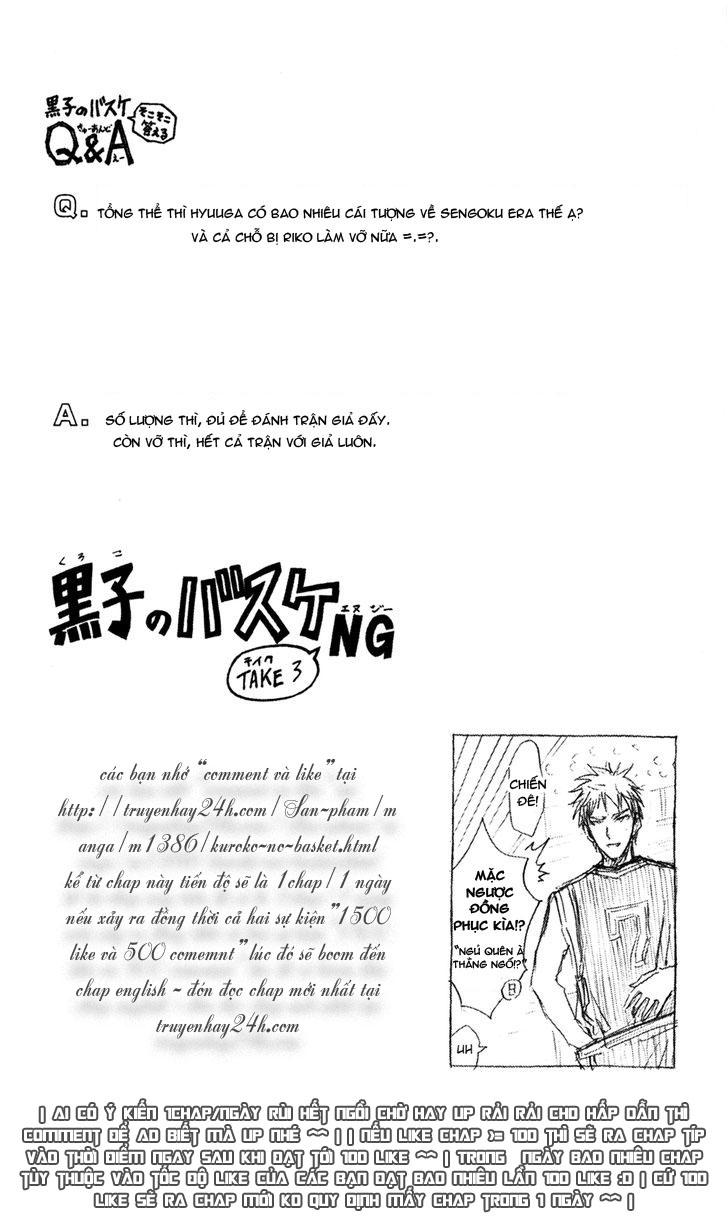 Kuroko No Basket chap 166 trang 18
