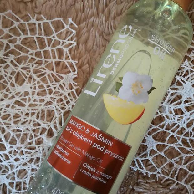 Lirene żel z olejkiem pod prysznic Mango i Jaśmin