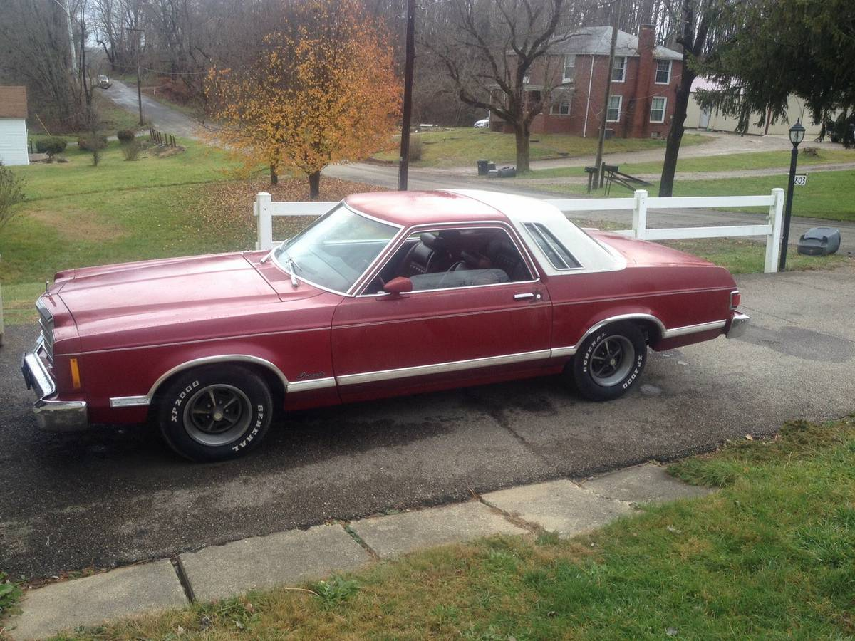 Fox Ford Lincoln >> Daily Turismo: 4-Speed Coupe: 1978 Ford Granada