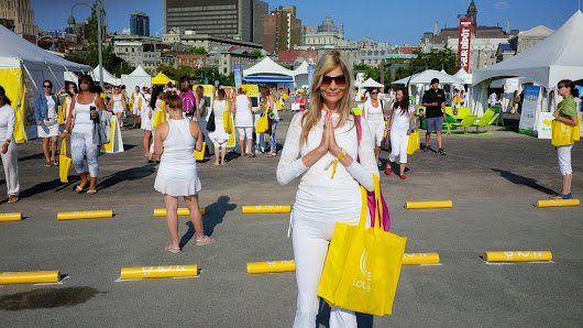 6,000 Ways To Wear White - Lole White Tour For Peace August 9, 2014