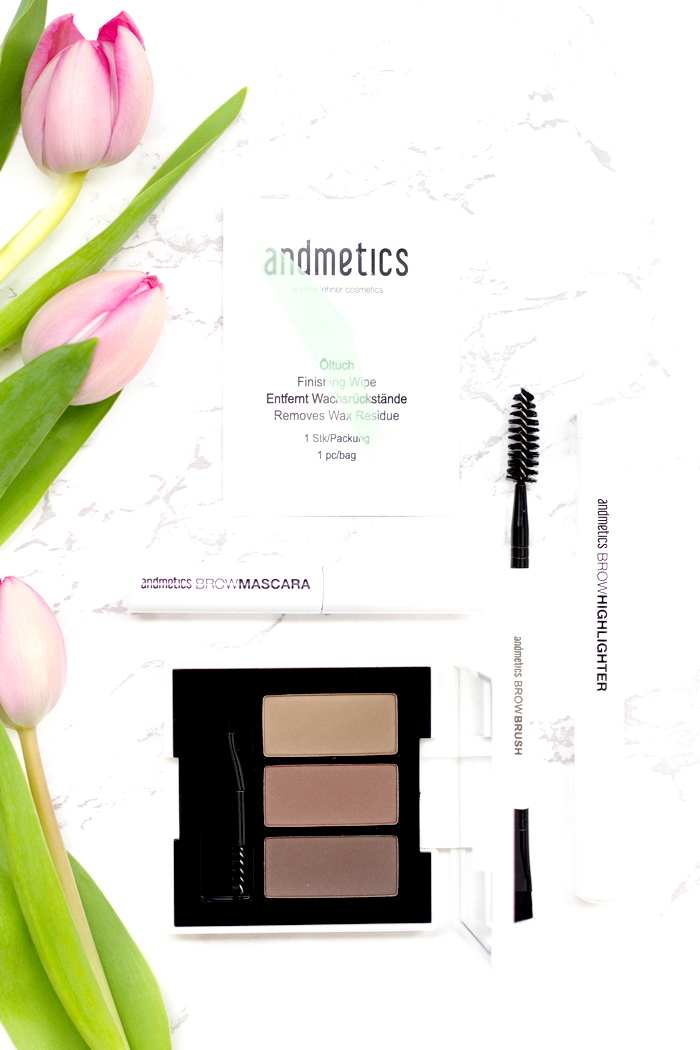andmetics Brow Set Basic