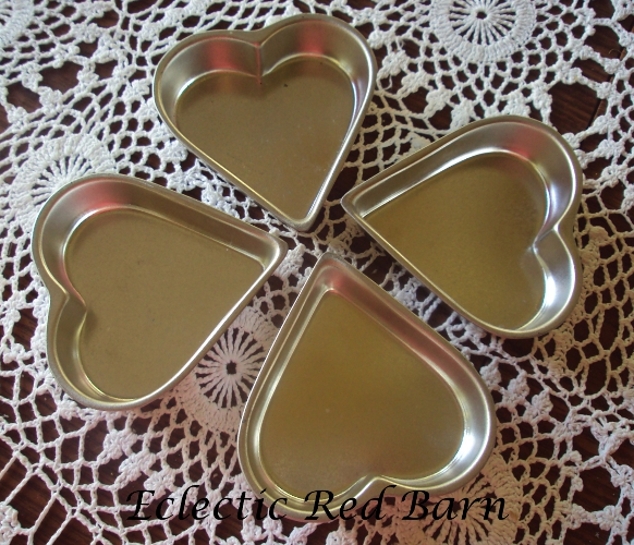 Heart-shaped Tins