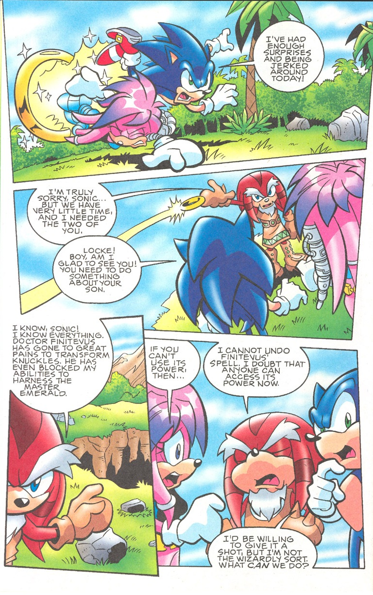 Read online Sonic The Hedgehog comic -  Issue #182 - 17