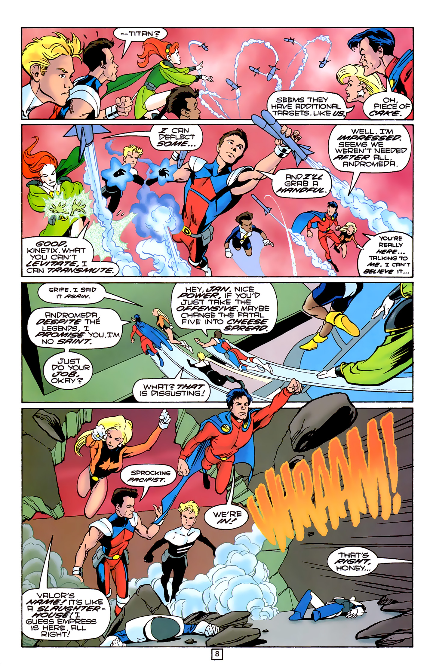 Legion of Super-Heroes (1989) 80 Page 7