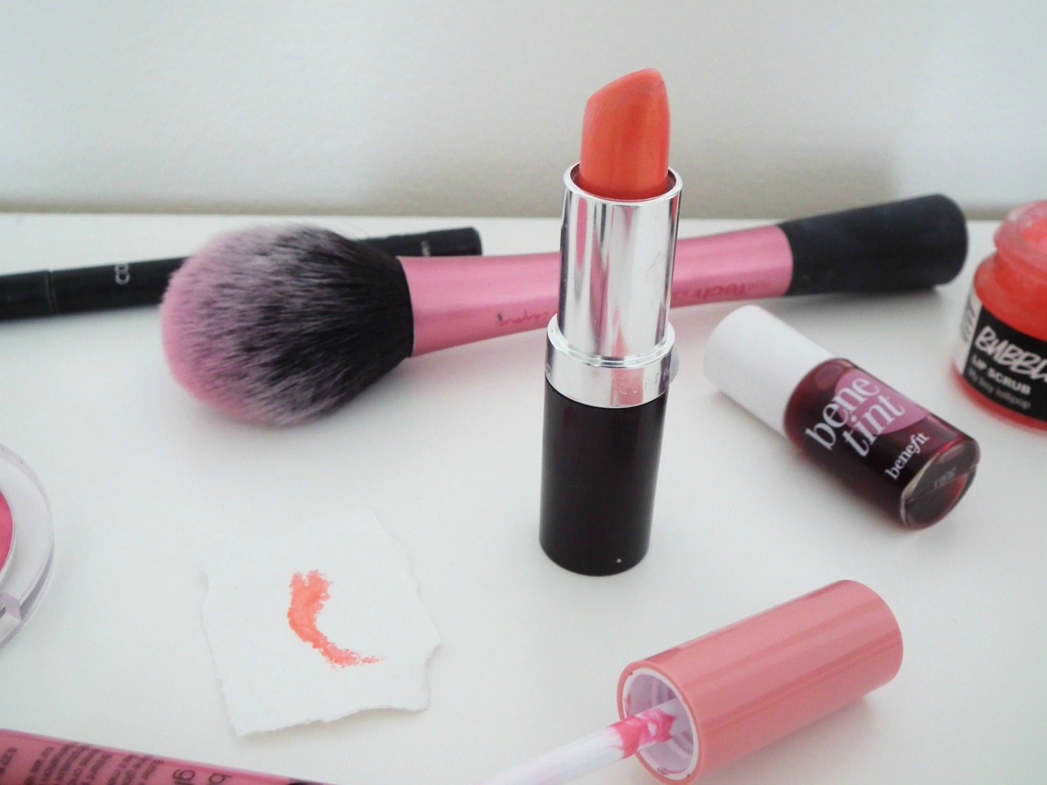 Summer Go To Lip Products Coral In Gold