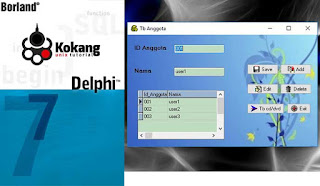 Program Penyewaan CD dan DVD Delphi7