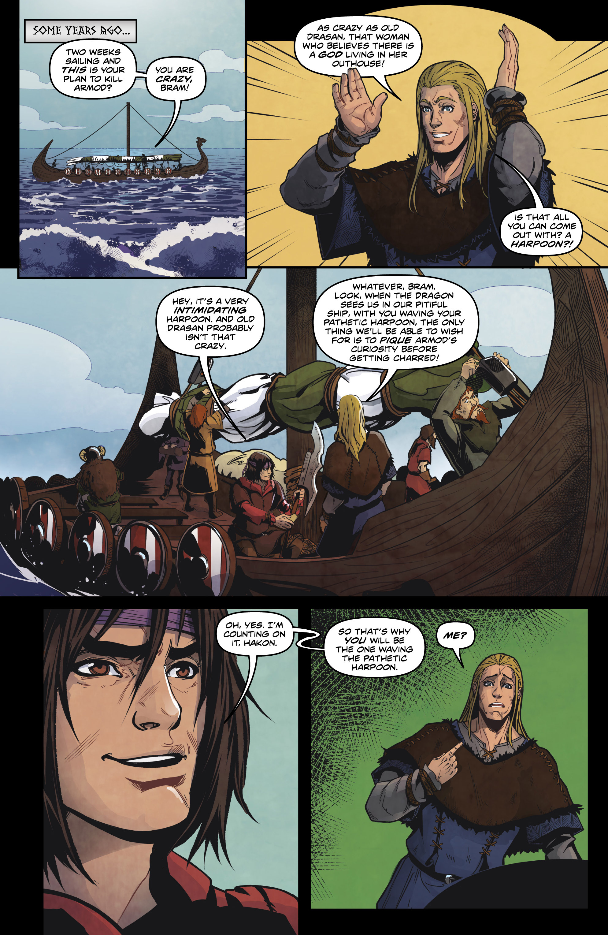 Read online Rogues! (2014) comic -  Issue #4 - 6