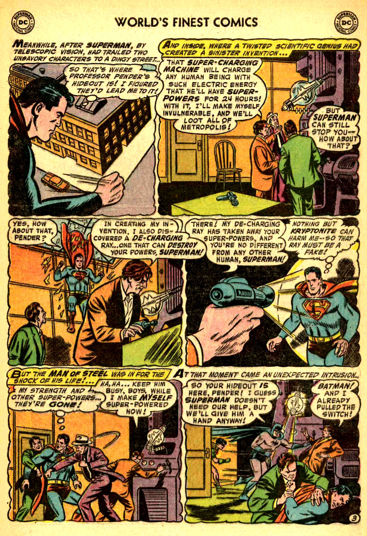 Read online World's Finest Comics comic -  Issue #77 - 5
