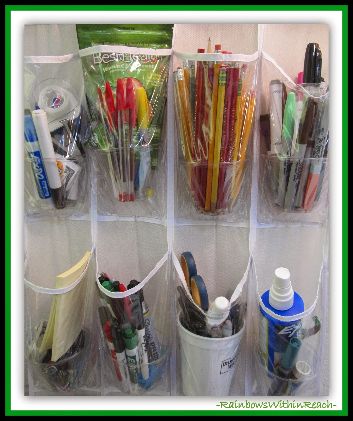 Organizing for back to school