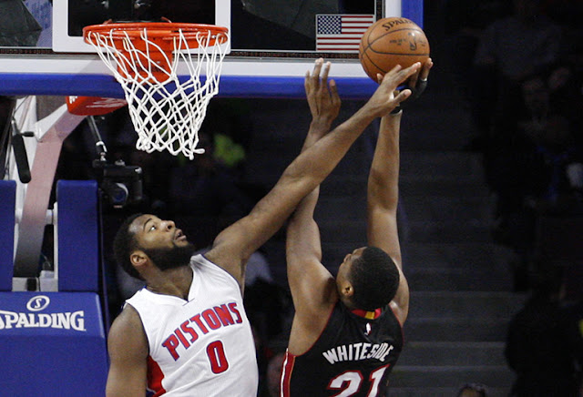 Andre Drummond contre Hassan Whiteside.