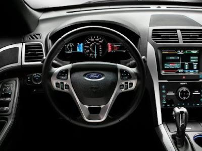 Ford Explorer Interior: entertainment, external media control