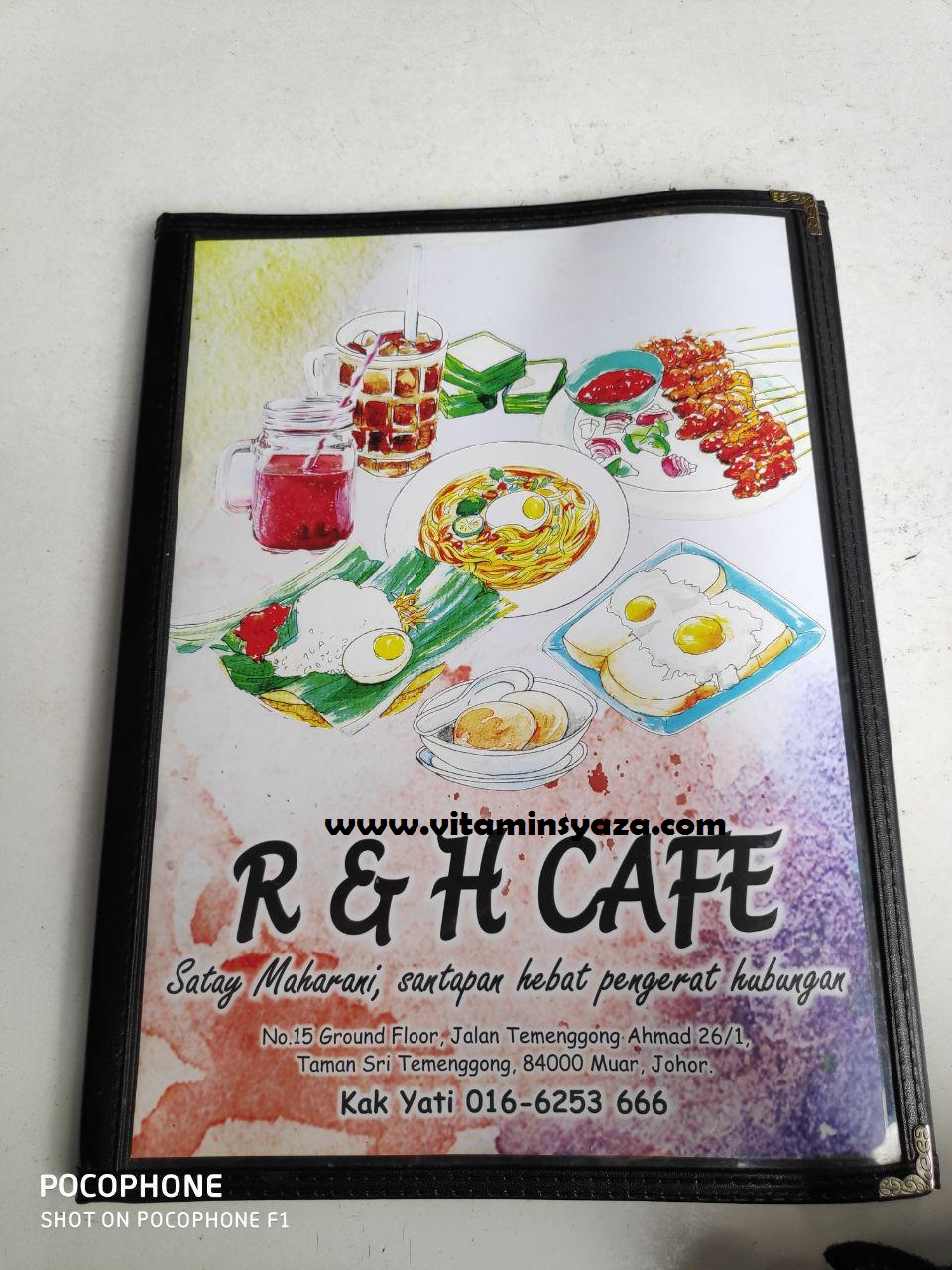 menu makanan dan harga R&H Cafe Maharani