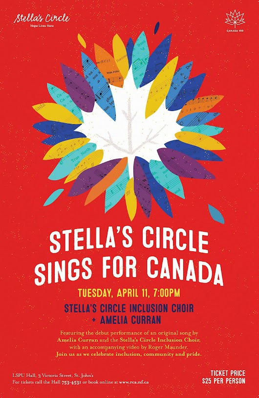 Stella's Circle Sings for Canada