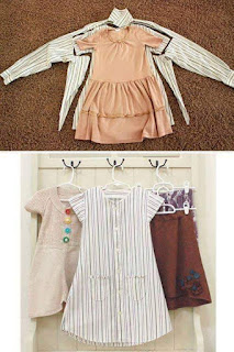 Creative ways to convert your old clothing to perfect baby  wears