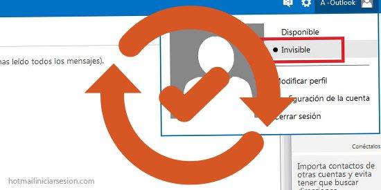 cambios de estado en Outlook.com