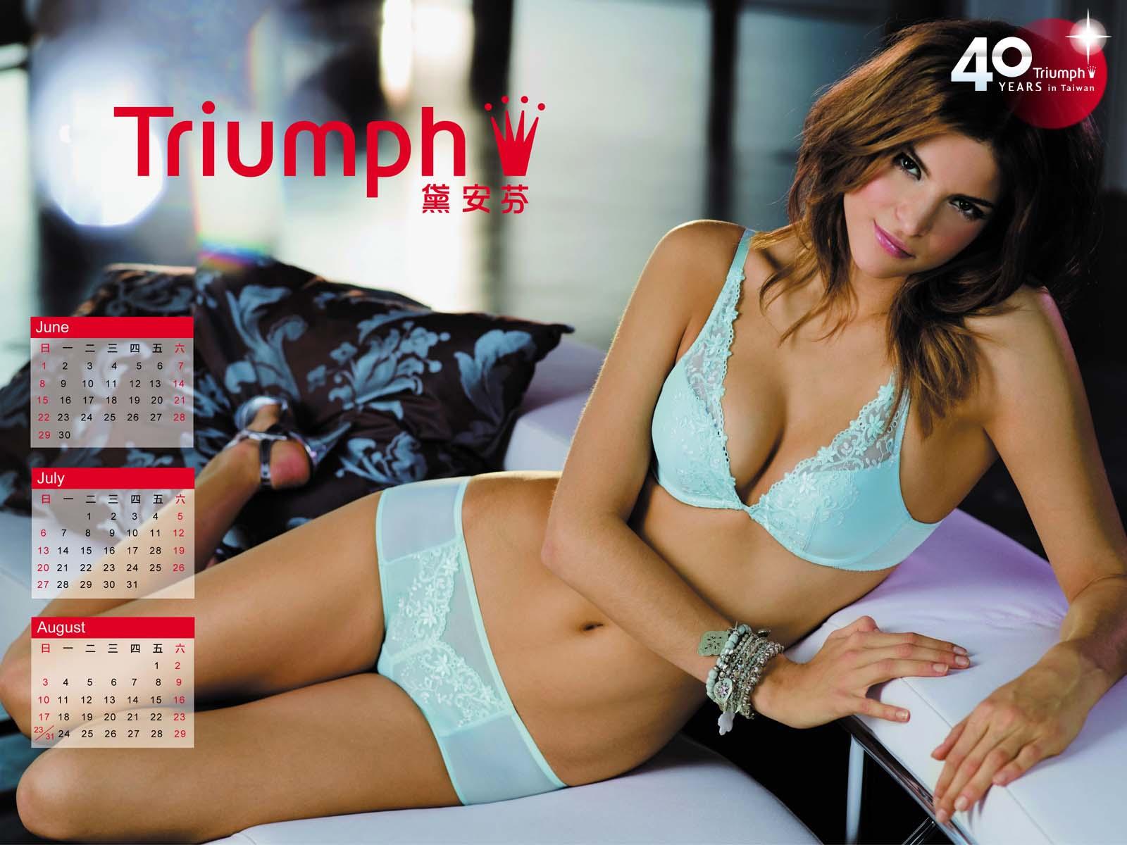 Triumph Bra Usa >> Lingerie Models: 04/12/11 - 11/12/11