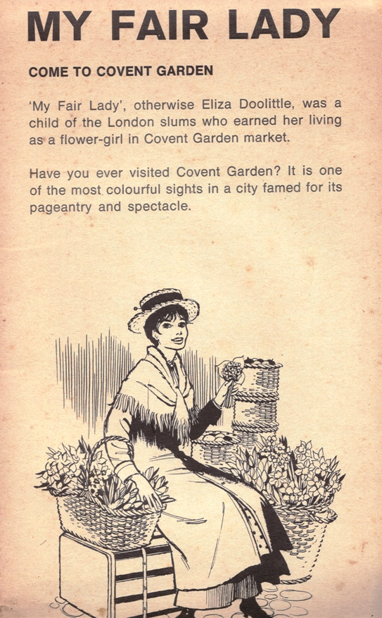 What does the expression 'fair lady' mean?