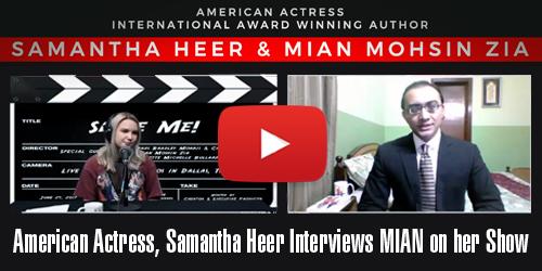 Samantha Heer Interviews Mian Mohsin Zia