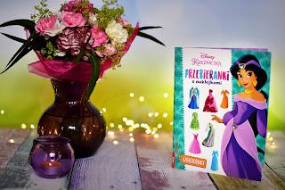 """""""Disney Księżniczka. Przebieranki z naklejkami"""" książki dla dzieci #32"""