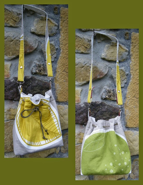 Bodaciously Basic Bucket Bag by eSheep Designs crafted by Nekane